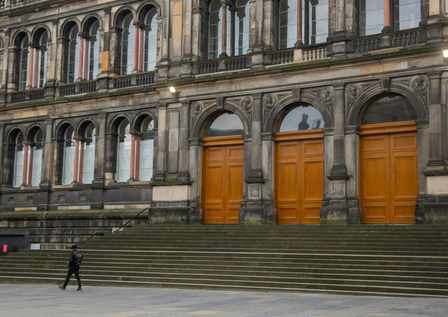 The National Museum on Edinburgh's Chambers Street has been closed since the lockdown started in March. Photo: Scott Louden