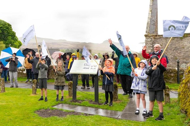 Pupils from Killearn Primary gave the Killearn Heritage Trail a grand opening