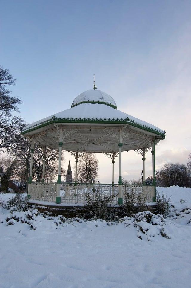 Peel Park bandstand